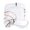 Corelle Fine Lines 16 Piece Dinnerware Set