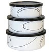 Corelle Simple Lines 6-Piece Food Storage Set