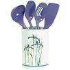 Corelle Impressions Shadow Iris 5 Piece Utensil Set