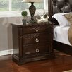 Williams Import Co. Caprivi 3 Drawer Nightstand