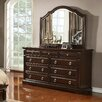 Williams Import Co. Caprivi 9 Drawer Dresser with Mirror