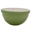 Mason Cash Hedgehog Embossed 21cm Mixing Bowl in Green