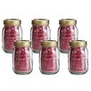 Kilner 6-Piece Jam Jar Set (Set of 6)