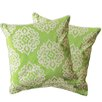Special Edition by Lush Decor Sophie Zipper Shell Throw Pillow (Set of 2)