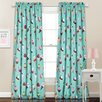 Special Edition by Lush Decor Cupcake Ice Cream Curtain Panel (Set of 2)