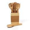 EKCO Bamboo 8 Piece Complete Utensil Set