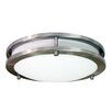 HomeSelects International Saturn 2 Light Flush Mount