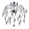 Elegant Lighting Gracieux 8 Light Semi Flush Mount