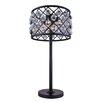 "Elegant Lighting Madison 32"" H Table Lamp with Drum Shade"