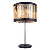 "Elegant Lighting Chelsea 32"" H Table Lamp with Drum Shade"