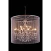 Elegant Lighting Brooklyn 15 Light Drum Pendant