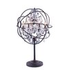 "Elegant Lighting Geneva 34"" H Table Lamp with Novelty Shade"