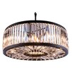 Elegant Lighting Chelsea 10 Light Drum Pendant
