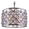 Elegant Lighting Madison 6 Light Drum Pendant