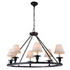 Elegant Lighting Chester 6 Light Chandelier