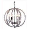 Elegant Lighting Cristal 6 Light Foyer Pendant