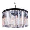 Elegant Lighting Sydney 8 Light Drum Pendant