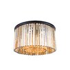 Elegant Lighting Sydney 8 Light Flush Mount