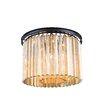 Elegant Lighting Sydney 6 Light Flush Mount