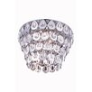 Elegant Lighting Sophia 6 Light Flush Mount