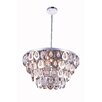 Elegant Lighting Sophia 8 Light Crystal Pendant