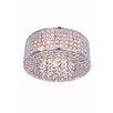 Elegant Lighting Amelie 4 Light Flush Mount