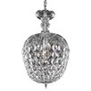 Elegant Lighting Rococo 1 Light Crystal Pendant