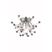 Elegant Lighting Optic 3 Light Flush Mount