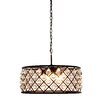Elegant Lighting Madison 6 Light Drum Pendant
