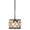 Elegant Lighting Madison 3 Light Drum Pendant