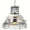 Elegant Lighting Industrial 1 Light Foyer Pendant