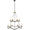 Elegant Lighting Perry 12 Light Candle Chandelier