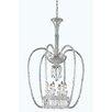 Elegant Lighting Majestic 6 Light Crystal Chandelier