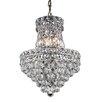 Elegant Lighting Tranquil 6 Light Chandelier with Crystal