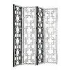 """Elegant Lighting 80"""" x 72"""" Modern 4 Panel Room Divider"""