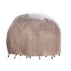 Duck Covers Elite Round Patio Table & Chair Set Cover