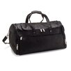 "Le Donne Leather 22"" Voyager Travel Duffel"