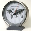 "Bai Design 6"" Convertible Global Wall Clock"