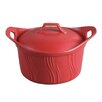 Lorren Home Trends 2.75 Quart Ceramic Casserole (Set of 2)