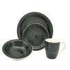 Lorren Home Trends Swirl 16 Piece Dinnerware Set