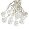 Paradise Garden Lighting Solar 50-Light 30 ft. Globe String Lights