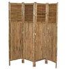 "Bamboo54 71"" x 72"" Screen 4 Panel Room Divider"