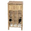 Bamboo54 12 Bottle Floor Wine Rack
