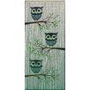 Bamboo54 Cute Owls Single Curtain Panel