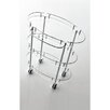 "Toscanaluce by Nameeks Complementi Toiletries Cart 23.6"" x 31"" Bathroom Shelf"