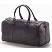 "Clava Leather Vachetta Barrel 19"" Leather Travel Duffel"