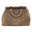 Rustic Purse Concrete Statue Planter - Size: 8 inch High x 7 inch Wide x 12 inch Deep - Color: Tan - Cole & Grey Planters