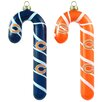 Topperscot NFL Blown Candy Cane (Set of 2)