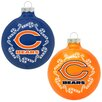 Topperscot NFL Home and Away Ornament (Set of 2)