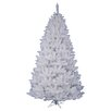 Vickerman Crystal White Spruce 5.5' Artificial Christmas Tree with Stand